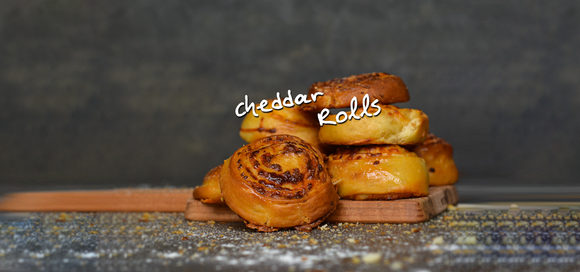 Cheddar Rolls – Kitchen FAIRY Tales by Giorgos Tsoulis